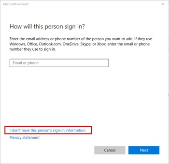 How to switch from a Microsoft account to a local user in Windows 10
