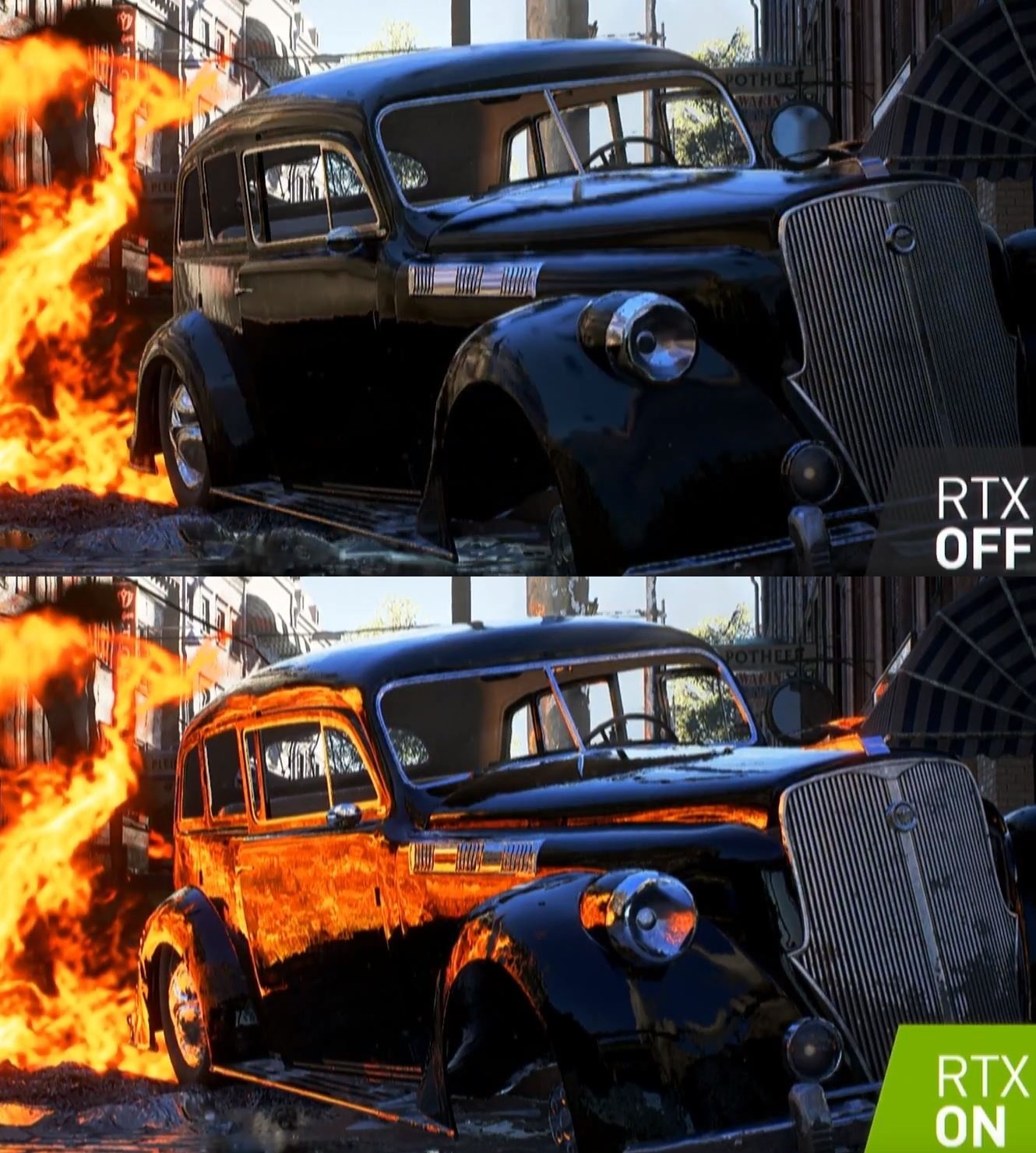 Improved Reflections in Battlefield V Using NVIDIA RTX Technology