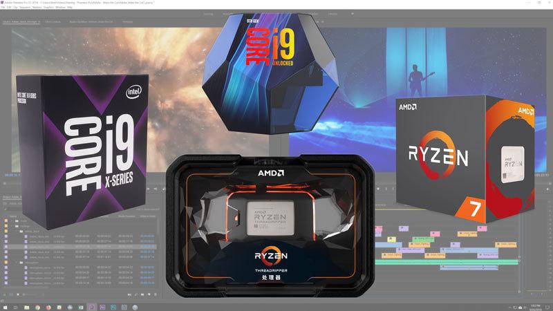 Premiere Pro CC 2019 CPU Roundup: Intel vs AMD vs Mac