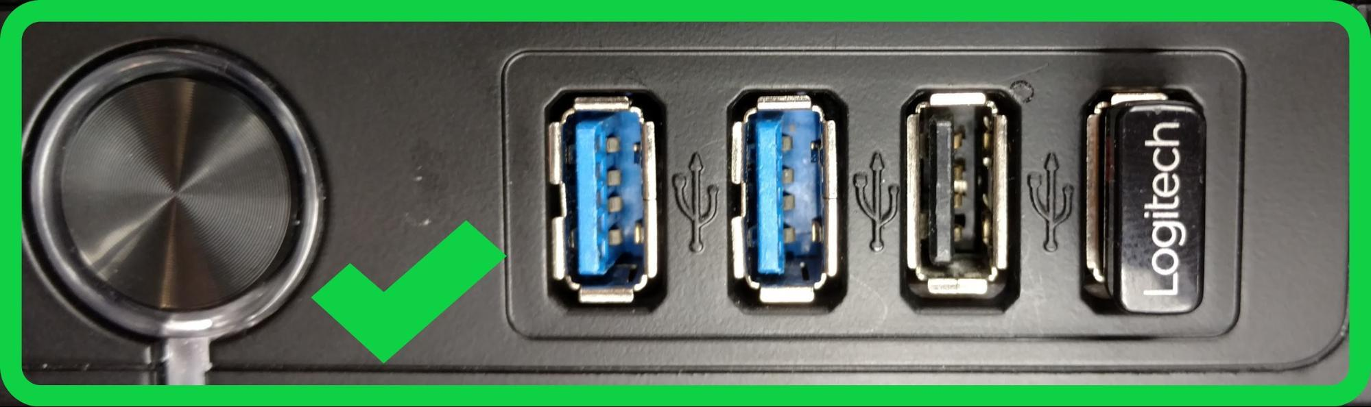 Use USB 2.0 ports for wireless receivers to reduce interference, unless they are specifically designed for USB 3.0