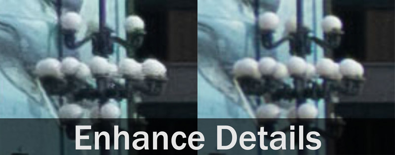Lightroom Classic CC Enhance Details on RAW images