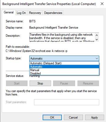 Windows 10 Updates Failing - Error code: 0x80246008