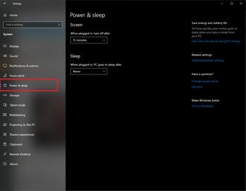 Windows 10 Sleep Issues