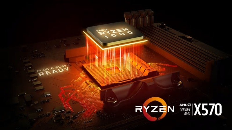 AMD Ryzen 3000 Processors and X570 Chipset