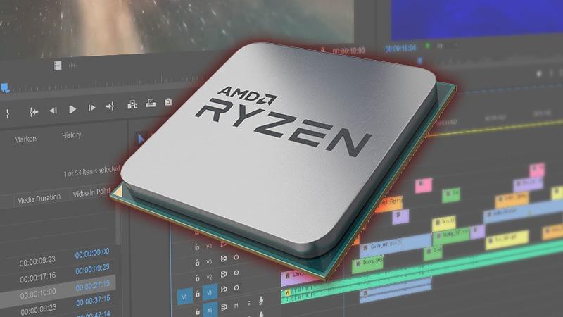 AMD Ryzen 3rd Gen Premiere Pro Performance