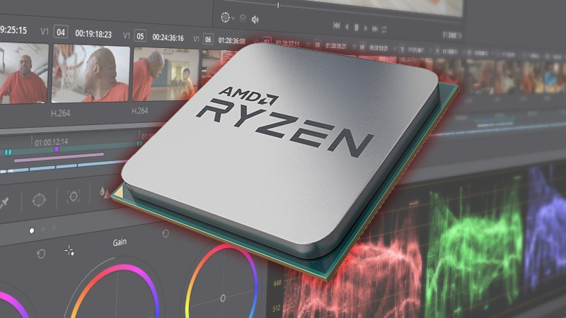 AMD Ryzen 3rd Gen DaVinci Resolve Studio Performance