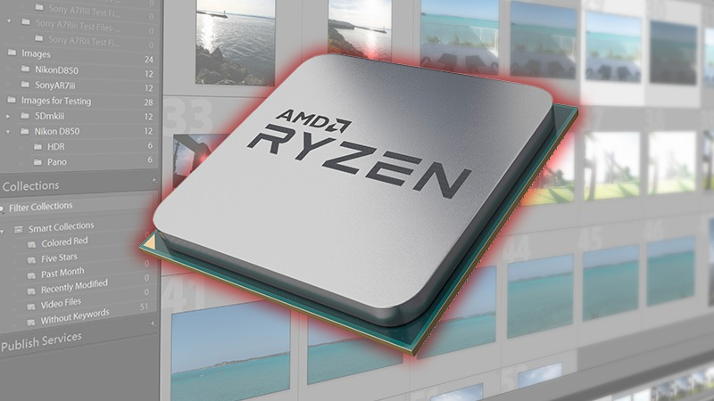AMD Ryzen 3rd Gen Lightroom Classic Performance