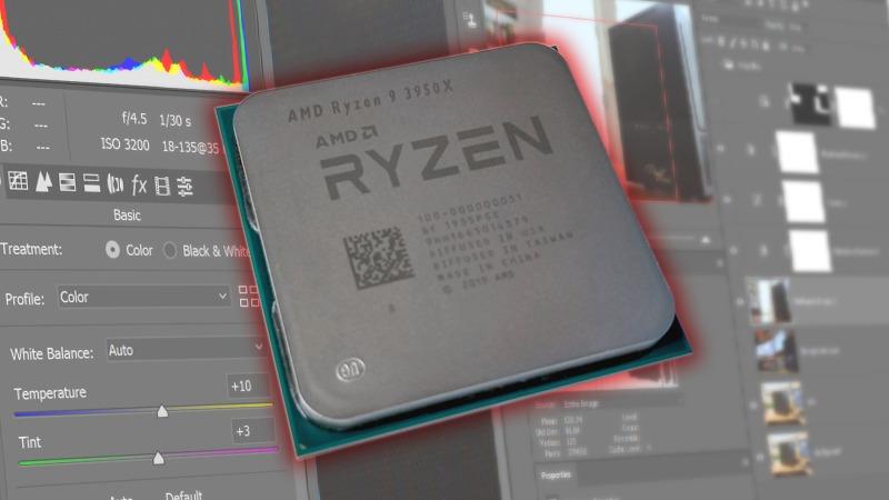 AMD Ryzen 9 3950X CPU for Photoshop