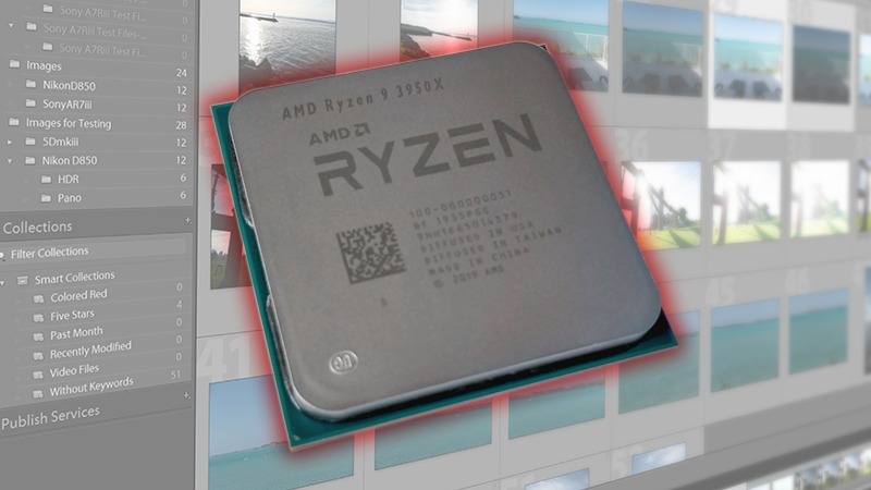 AMD Ryzen 9 3950X CPU for Lightroom Classic