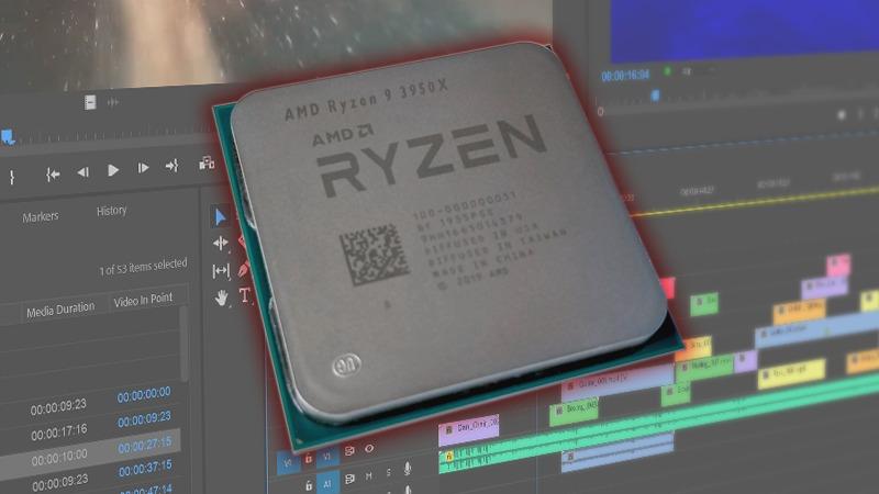 AMD Ryzen 9 3950X CPU for Premiere Pro