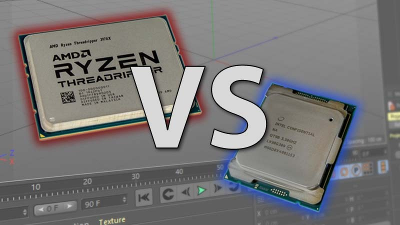 Intel Core X-1000 series vs AMD Threadripper 3rd Gen in Cinebench R20