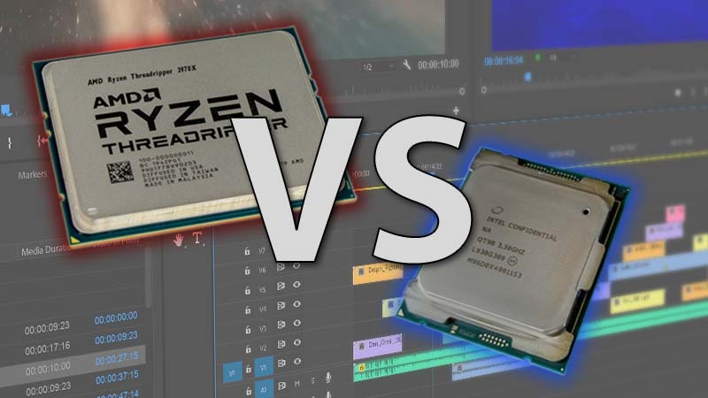 Intel Core X-series vs AMD Threadripper 3rd Gen Premiere Pro Review