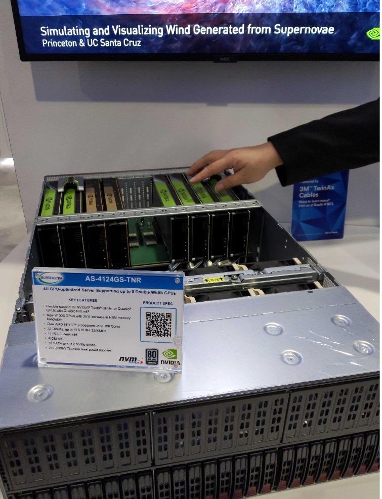 8 GPU's