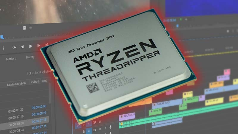 AMD Threadripper 3990X 64 Core Premiere Pro Review