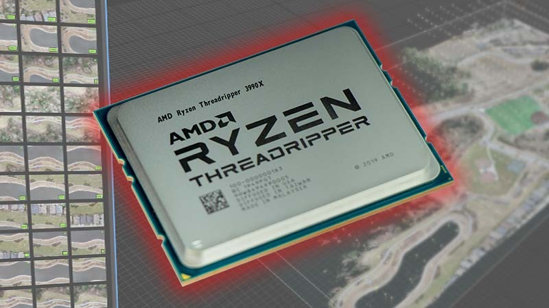 AMD Threadripper 3990X Tested in RealityCapture