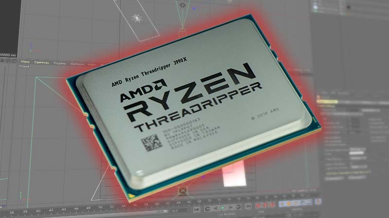 AMD Threadripper 3990X Tested on Windows 10 Pro for Workstations in CPU-based Rendering