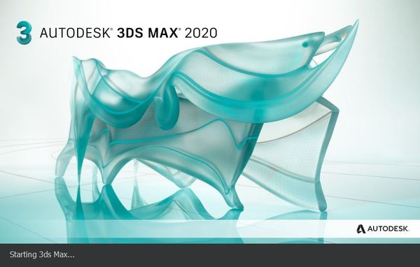 3ds Max loading screen
