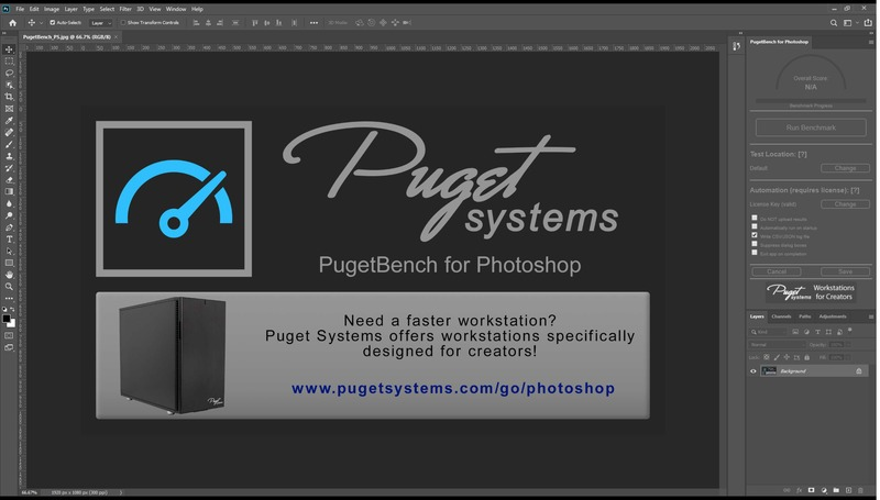 PugetBench for Photoshop