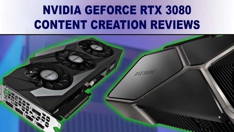 NVIDIA GeForce RTX 3080 10GB benchmark review summary