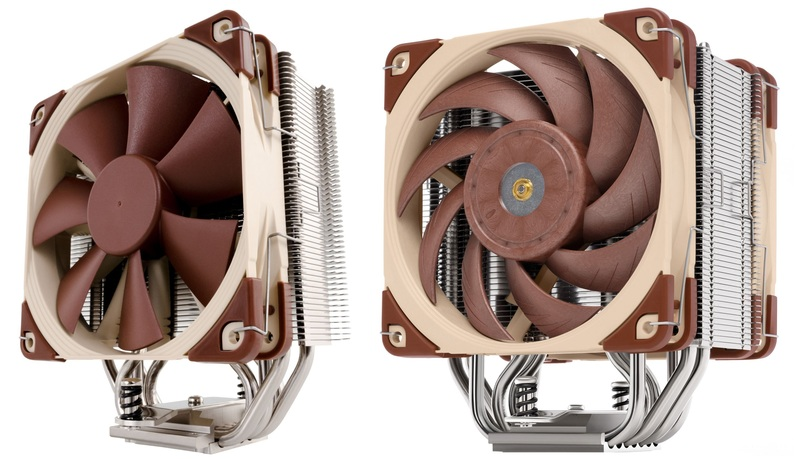 Noctua NH-U12S and NH-U12A Side By Side