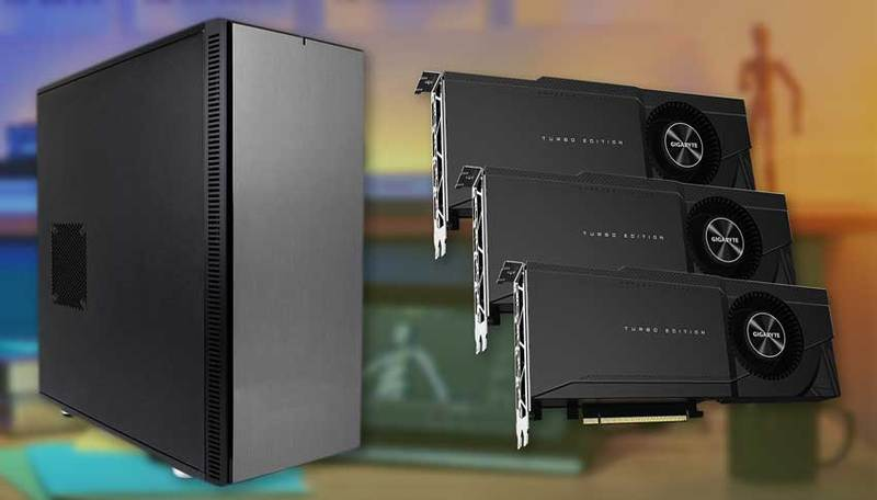 Puget Systems triple RTX 3090 24GB