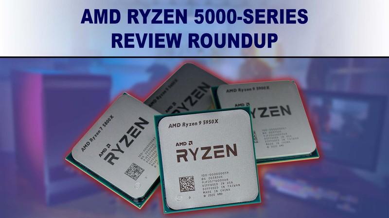 Tóm tắt đánh giá điểm chuẩn AMD Ryzen 5000-series