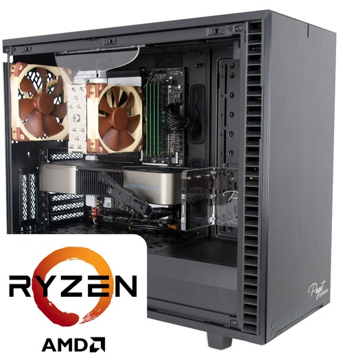 Puget Systems AMD Ryzen 5000 series workstations