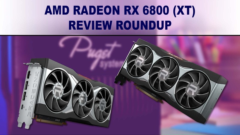 AMD Radeon 6800 XT 16GB benchmark review summary
