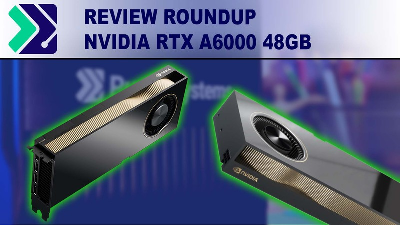NVIDIA RTX A6000 48GB benchmark review summary