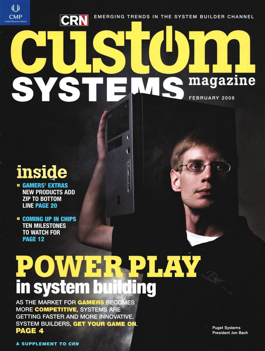 CRN Custom Systems Magazine Cover