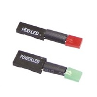 Direct-Connect Power/HDD LEDs