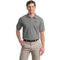 Puget Grey Polo Shirt (large)
