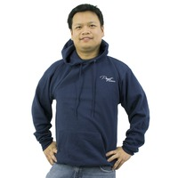 Puget Mens Navy Hooded Sweatshirt (large)