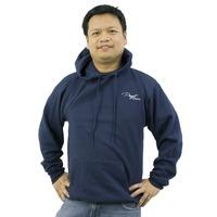 Puget Mens Navy Hooded Sweatshirt (XX large)