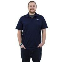 Puget Mens Navy Polo (medium)